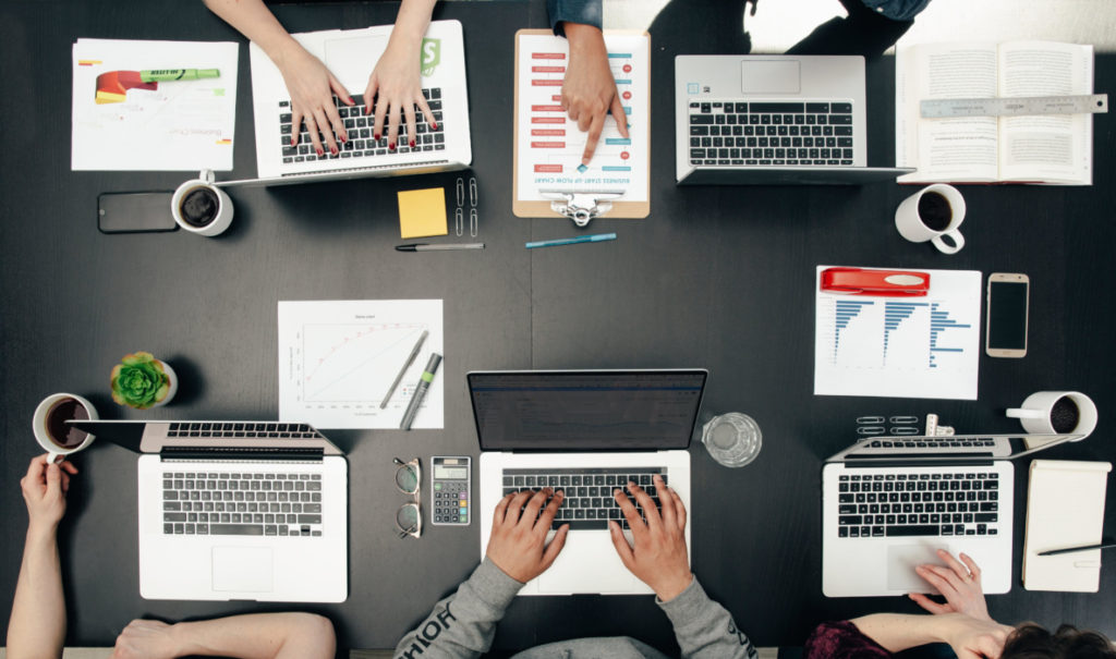 Remote teams can virtually come together in a digital workspace