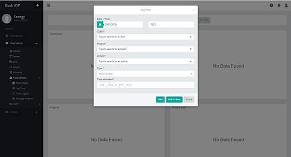 Dusk Mobile Time Sheet Management - Field Service Management Software