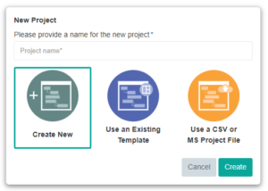 Import Excel and MS Project - Dusk Mobile IOP