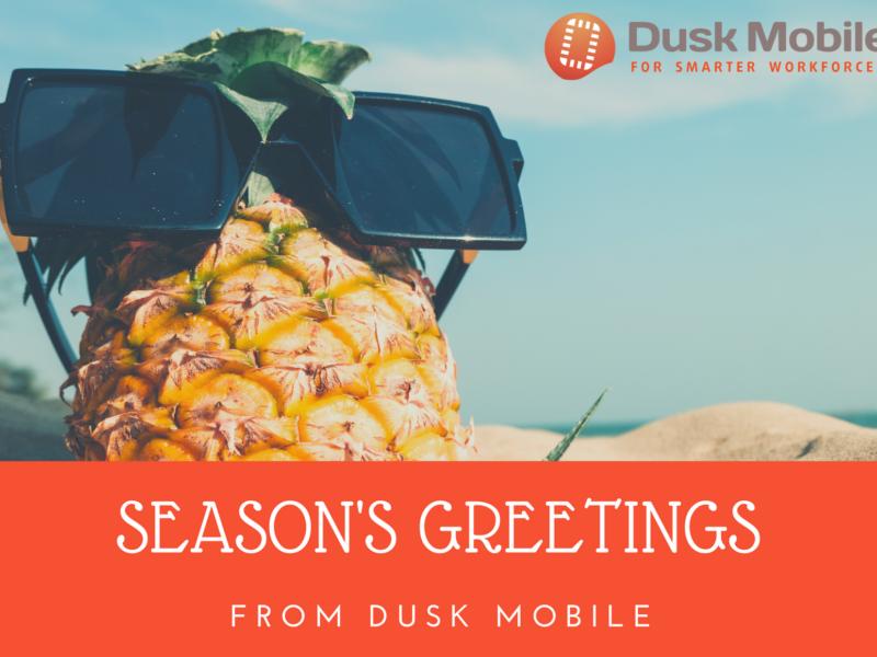Seasons Greetings From Dusk Mobile 2020