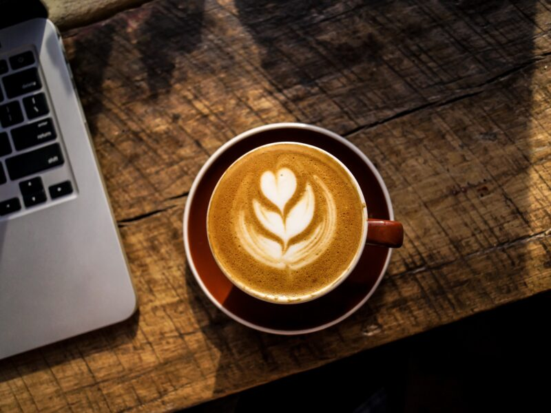 Planning and Scheduling Software tips over a coffee